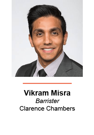 Vikram Misra, Barrister, Clarence Chambers