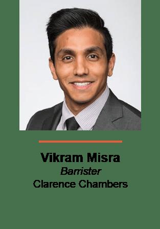 Vikram Misra, Barrister, Clarence Chambers
